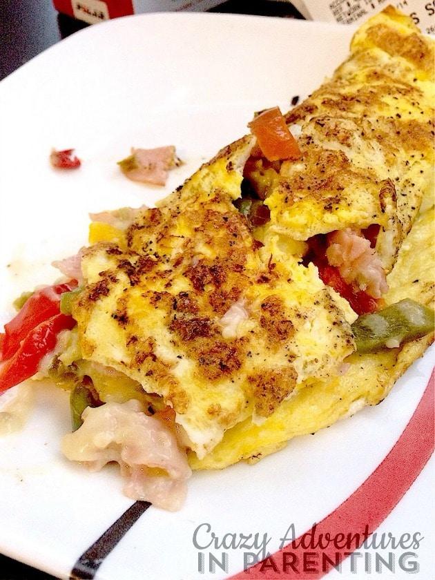 husband's omelet