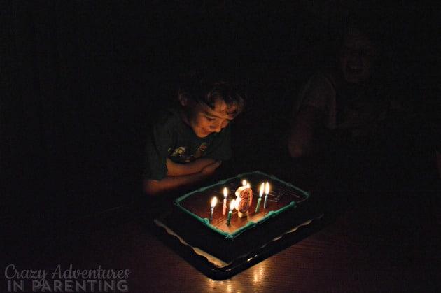 Baby Dude's 6th birthday