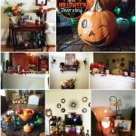 Decorating for Halloween and Fall in the New House