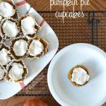 Grain-Free Gluten-Free Pumpkin Pie Cupcakes #FitMaple