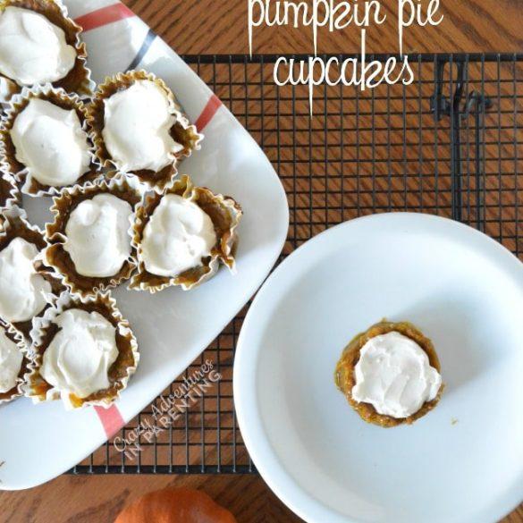 Grain-Free Gluten-Free Pumpkin Pie Cupcakes