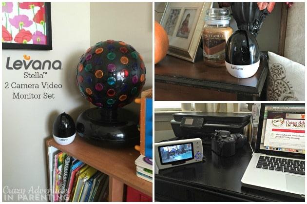 Levana Stella 2 Camera Video Monitor Set