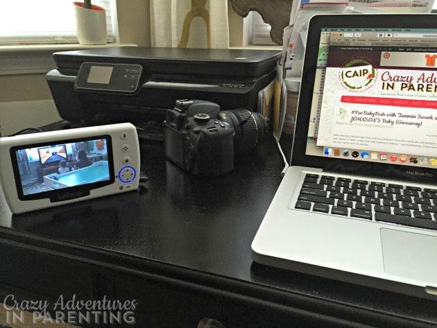 Levana Stella monitor on my desk