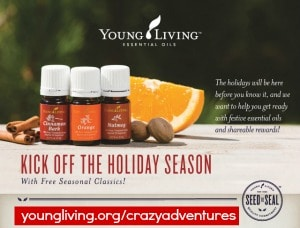 October Young Living 2014 bonuses