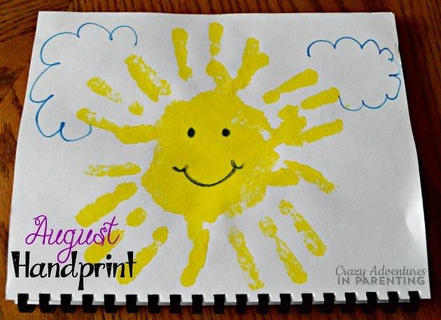 August Handprint
