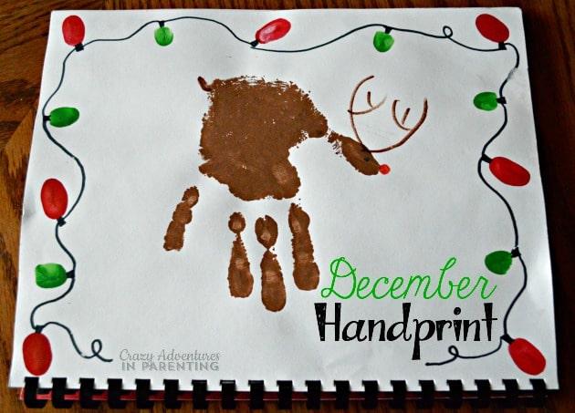 December Handprint