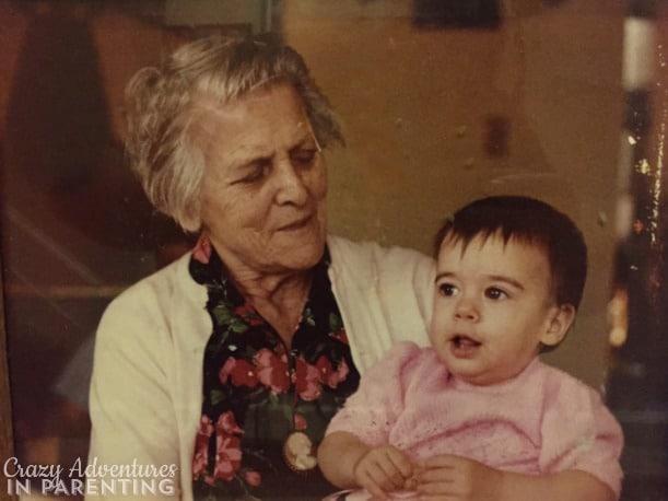 Great Grandma and me