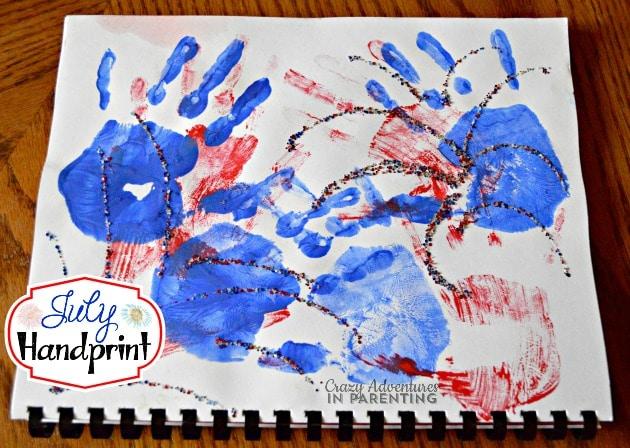 July Handprint