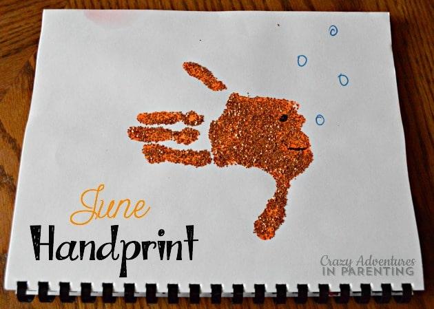June Handprint
