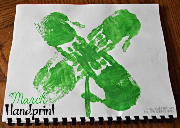 March Handprint