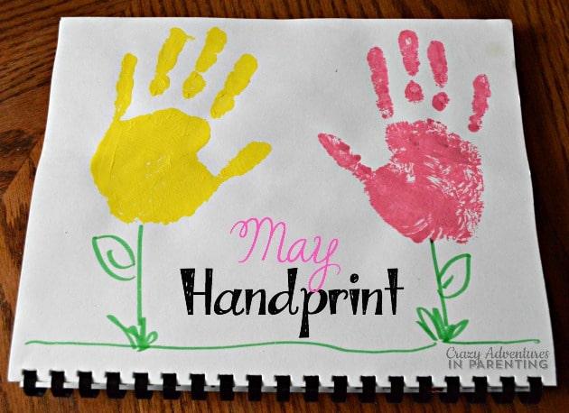 May Handprint