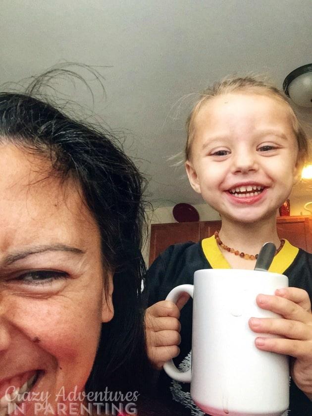 My Steelers baby tea stealer