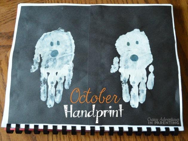October Handprint