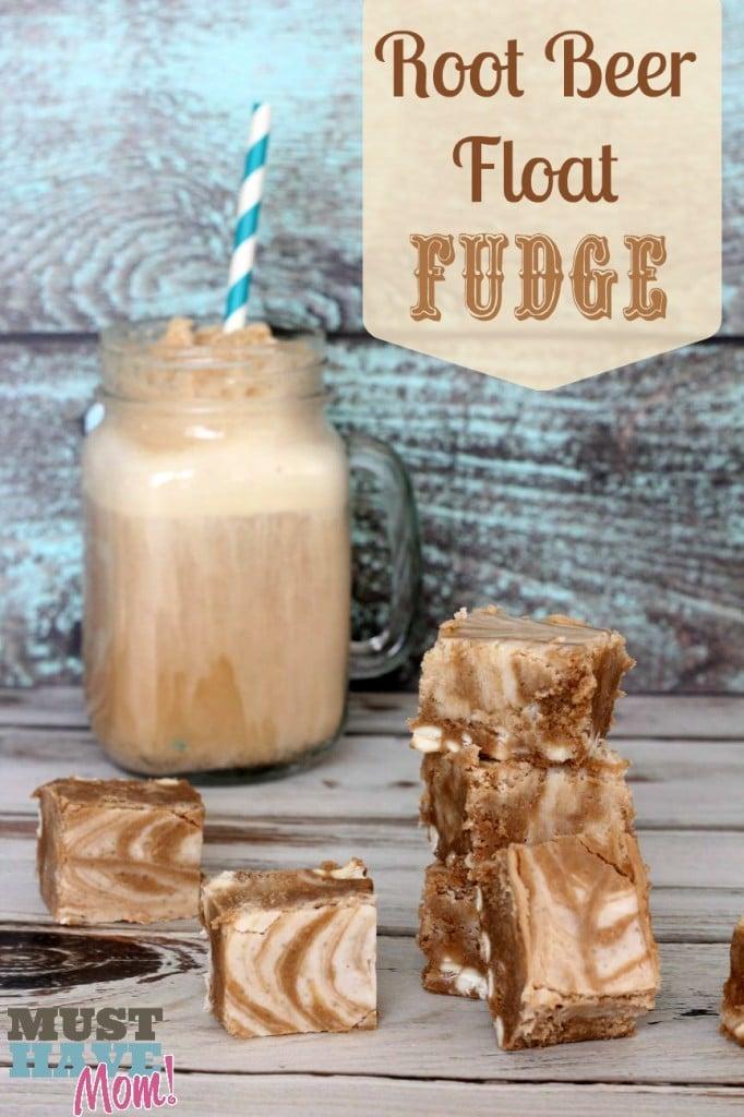 Root Beer Float Fudge Recipe