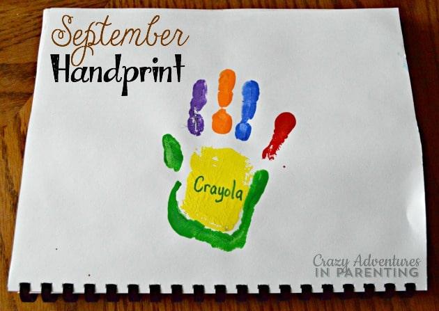September Handprint