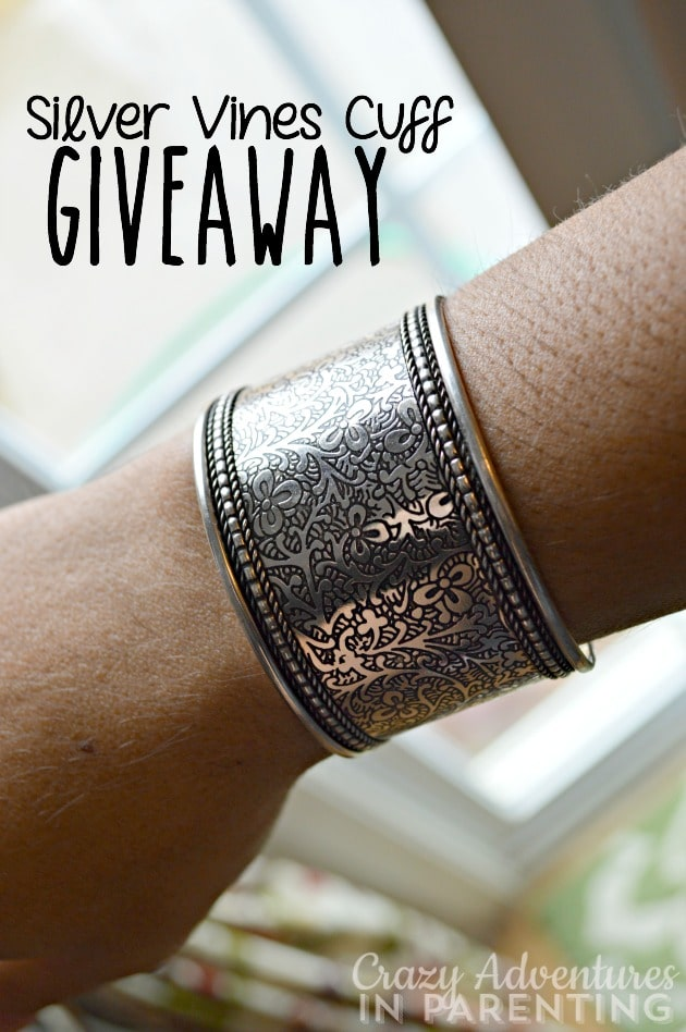 Silver Vines Cuff Giveaway