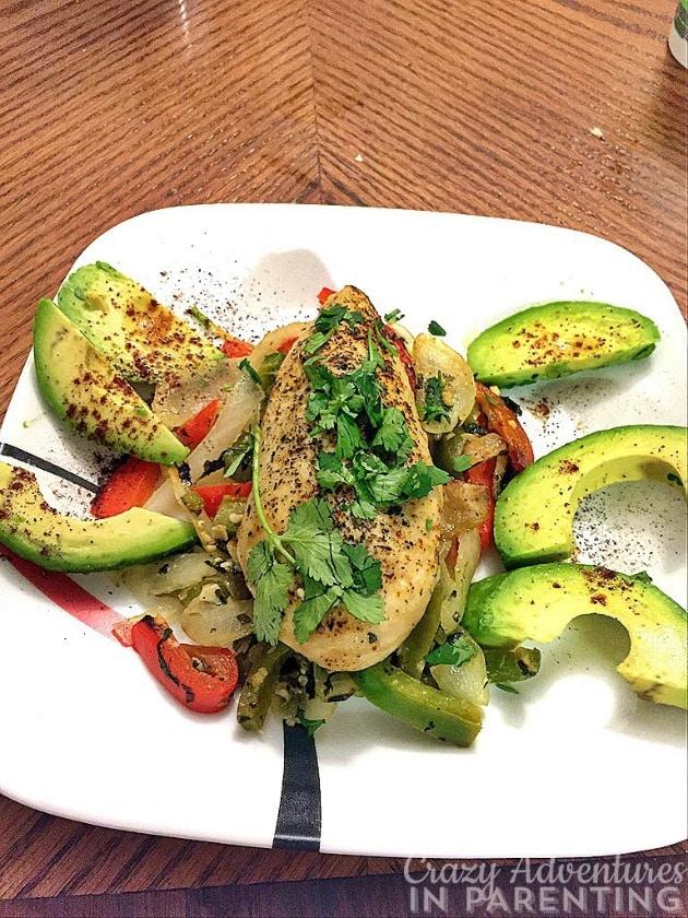 avocado chicken deliciousness