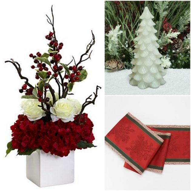 Christmas Holiday Decor for the table