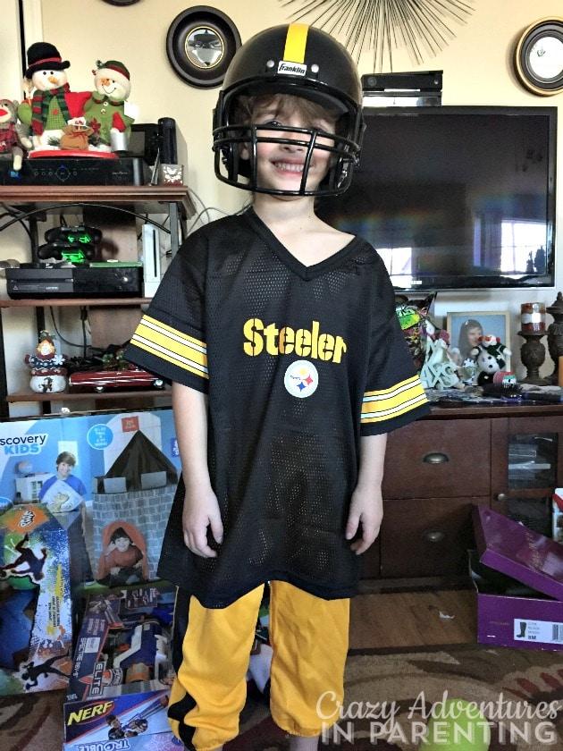 Kids Steelers uniform