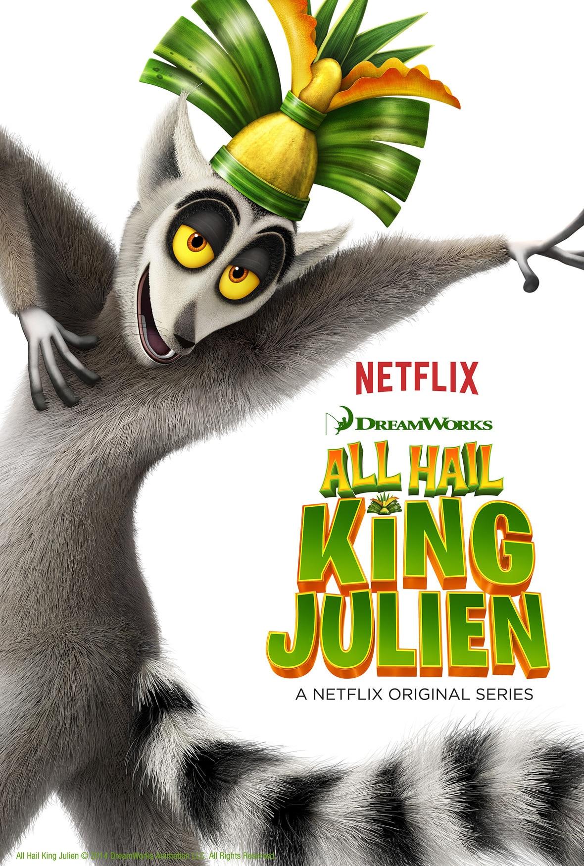 King Julien Netflix Original series