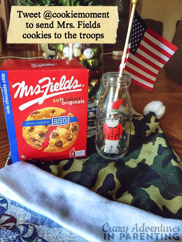 Mrs Fields Cookies for Troops