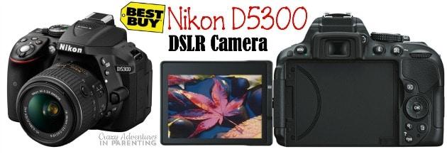 Nikon D5300 from Best Buy