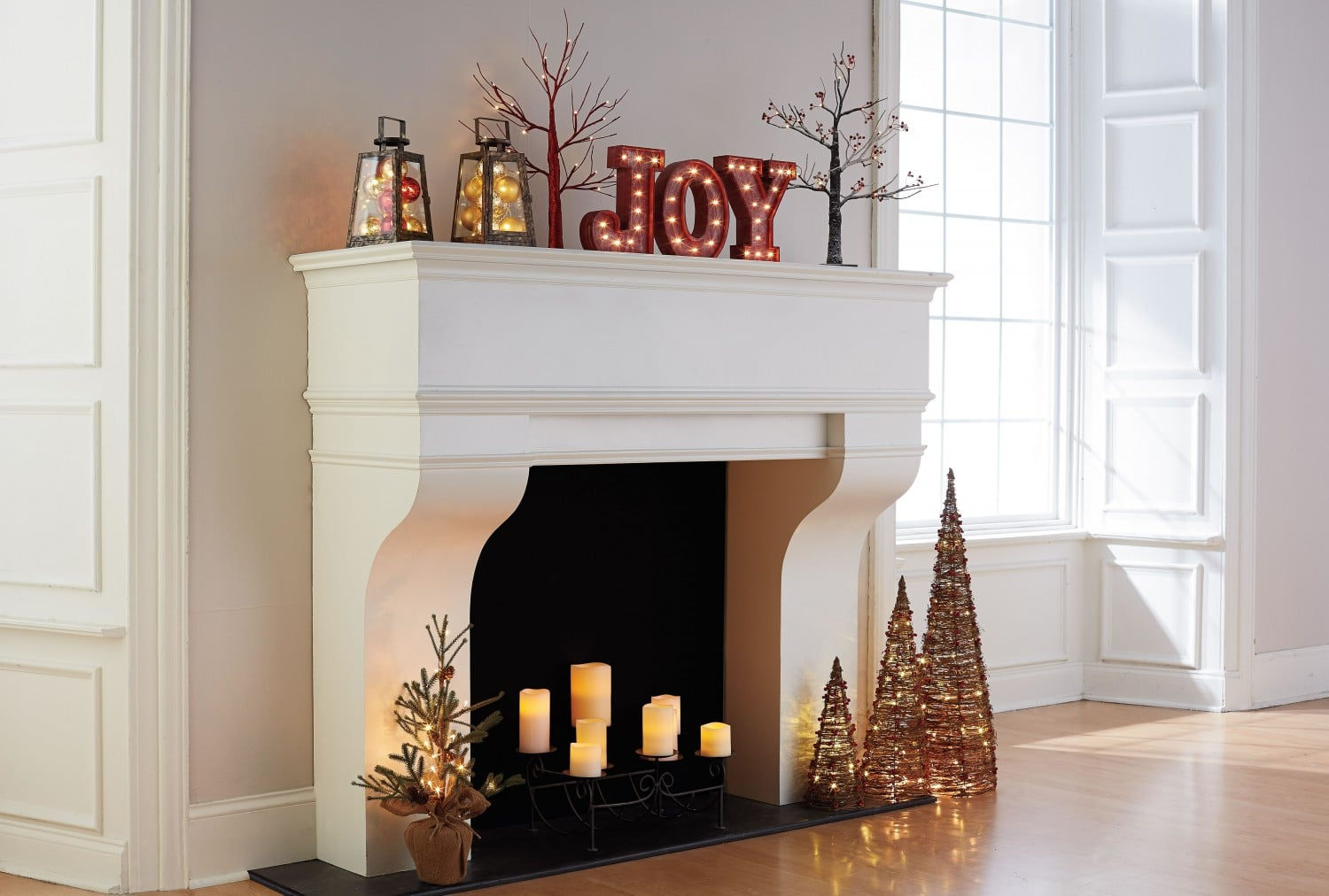 Kohls Holiday Mantle