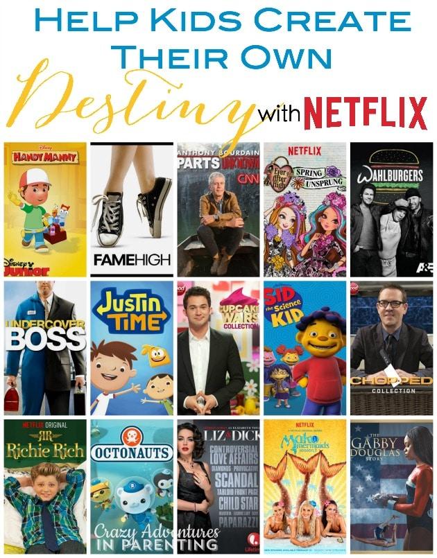 Help Kids Create Their Own Destiny with Netflix
