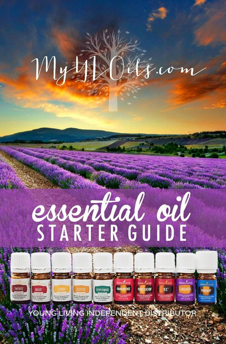 MyYLOils.com Essential Oil Starter Guide 2016