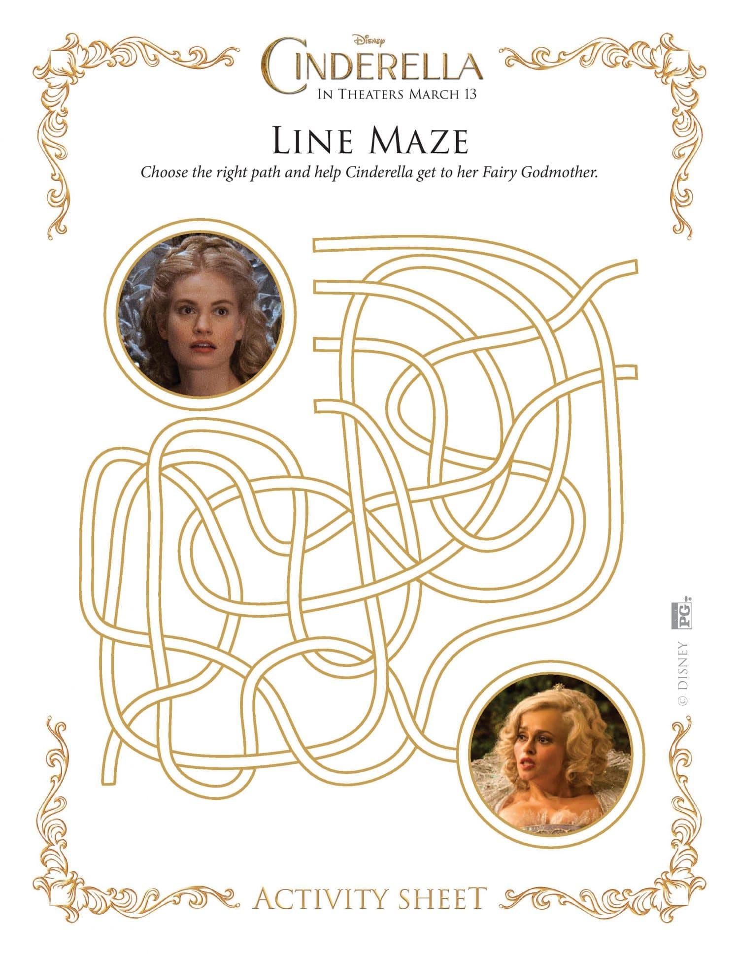 Cinderella maze