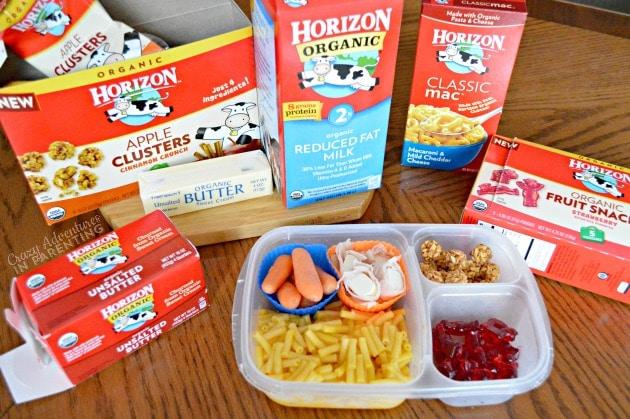 Horizon Organic toddler lunch
