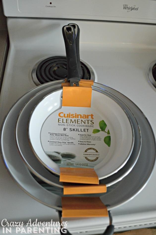 Cuisinart Elements Ceramica Non-Stick Cookware