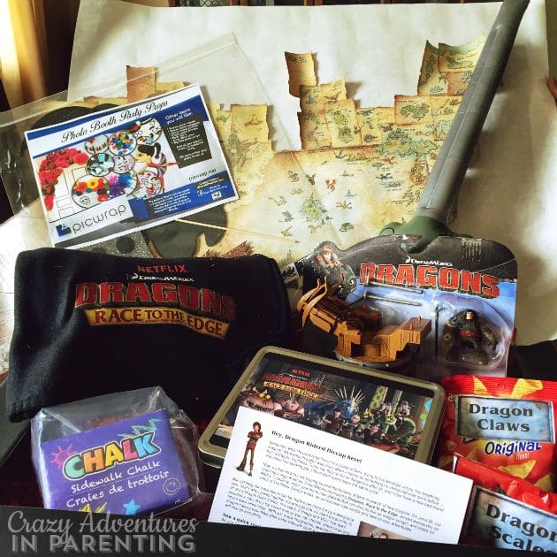 Dragons Race to the Edge goodie box