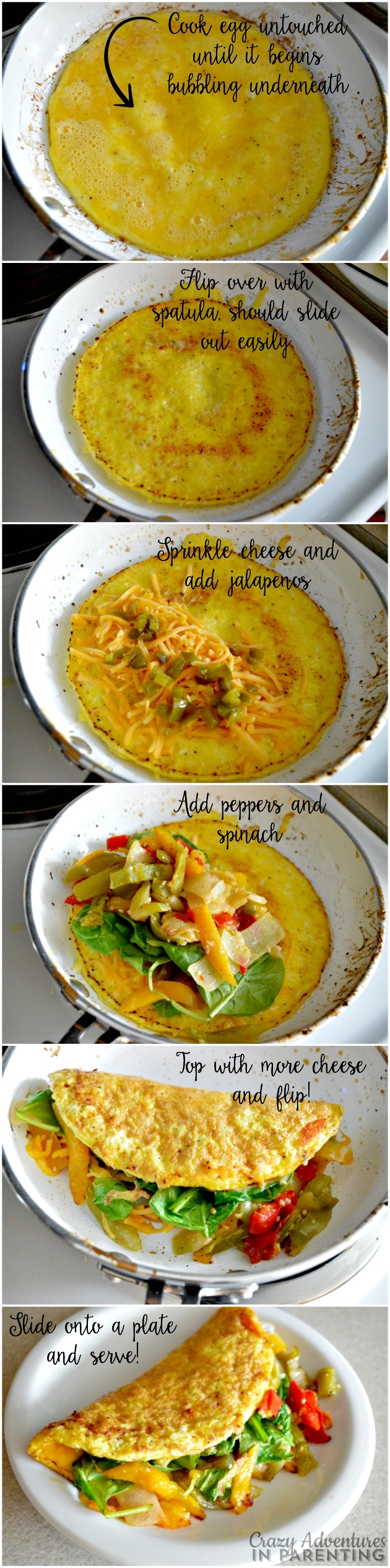 How to make a Spicy Pepper Omelet