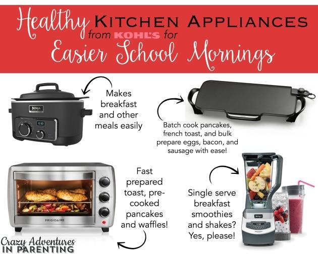 Healthy Kitchen Appliances for Easier School Mornings