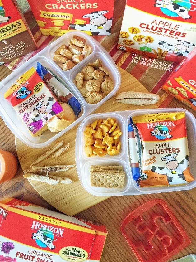 Lunchbox Love with Horizon Organic snacks