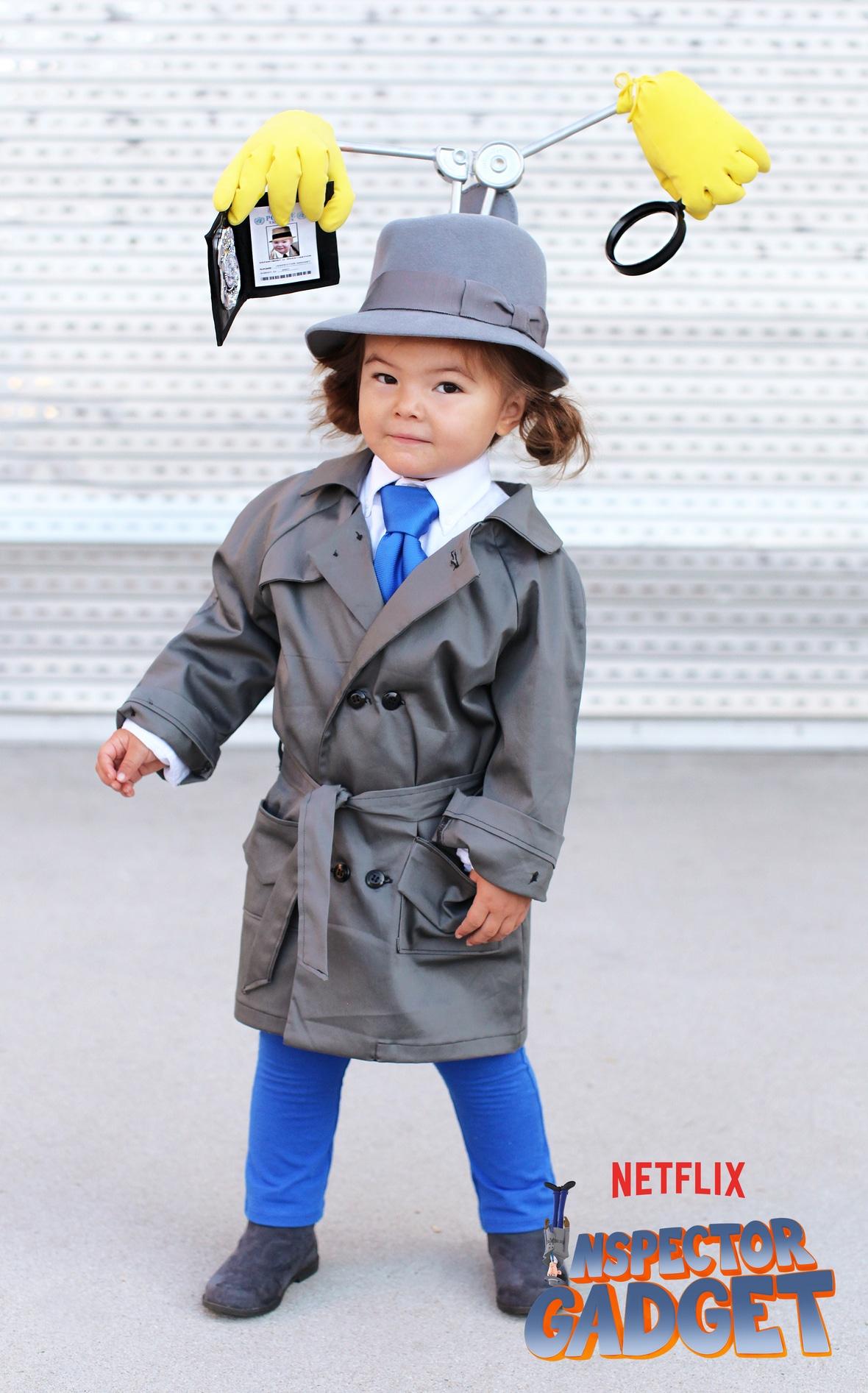 Inspector Gadget kid costume