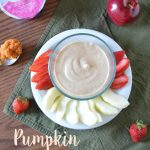 Pumpkin Yogurt Dip and Wholesome Snacking with Yoplait Greek Whips #SnackandSmile