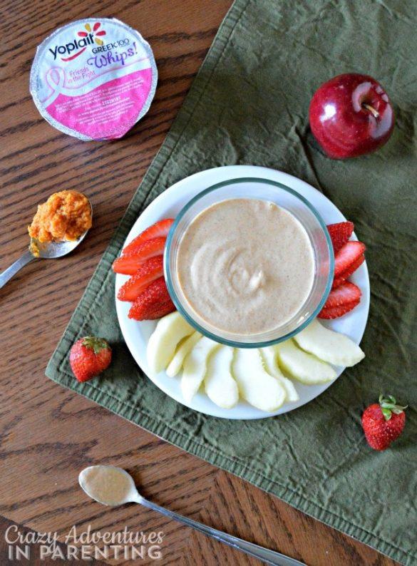 Ready to serve Pumpkin Yogurt Dip