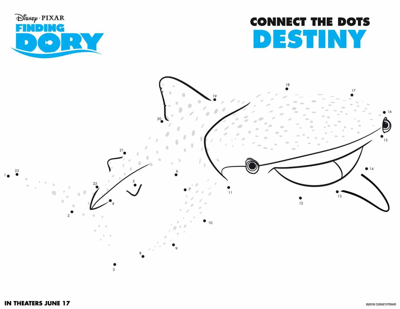 Finding Dory Activity Sheet 4