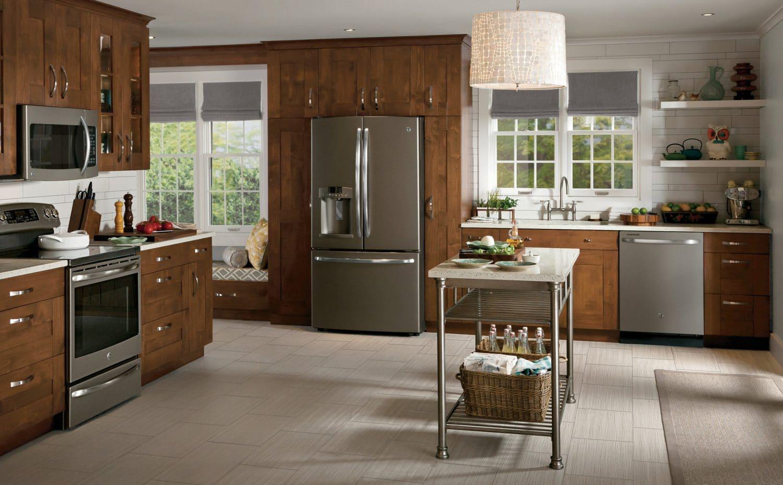 GE Premium Slate Finish Appliances