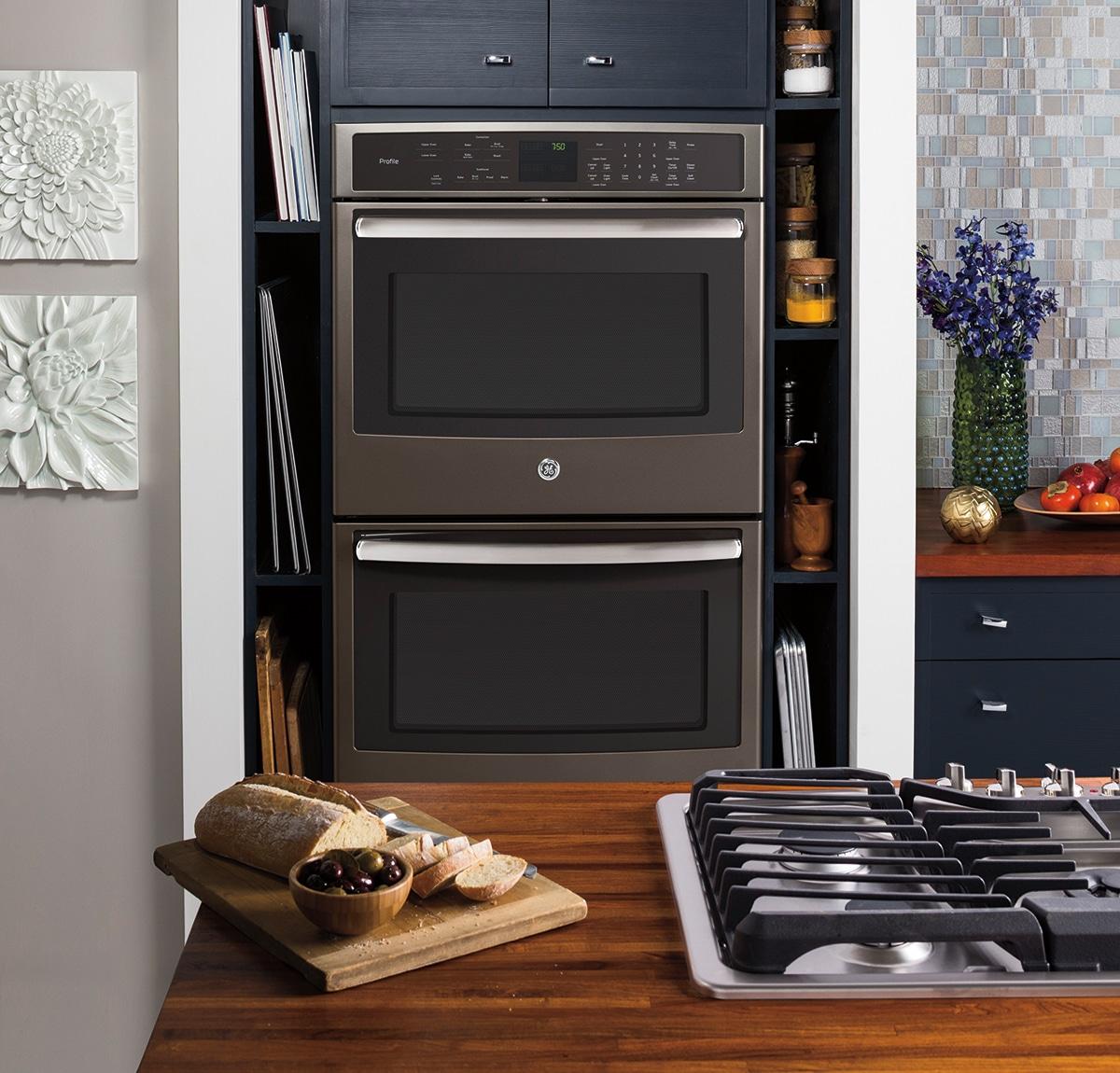 GE Premium Slate Finish Oven
