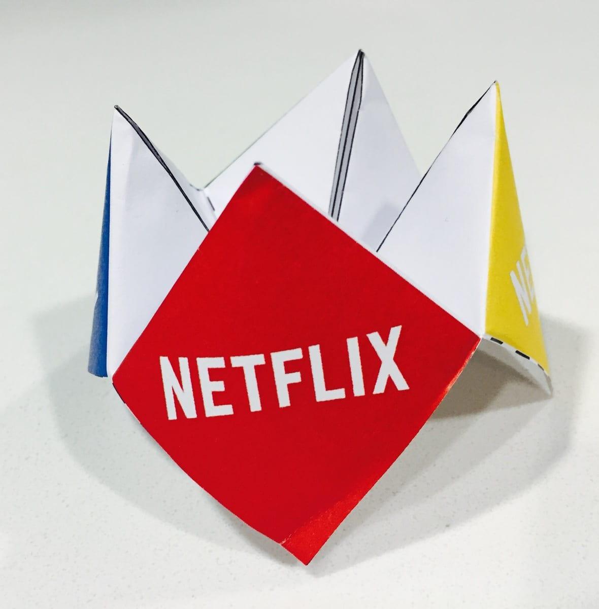 Netflix Fortune Teller