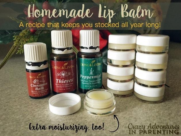 Homemade Lip Balm Recipe | Crazy