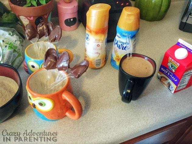 coffee bar drinks
