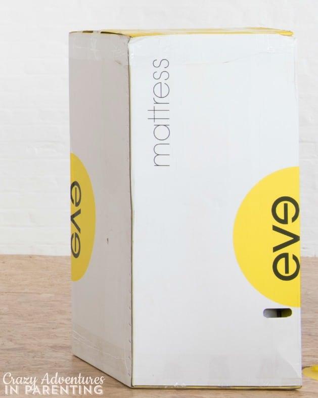 eve mattress box