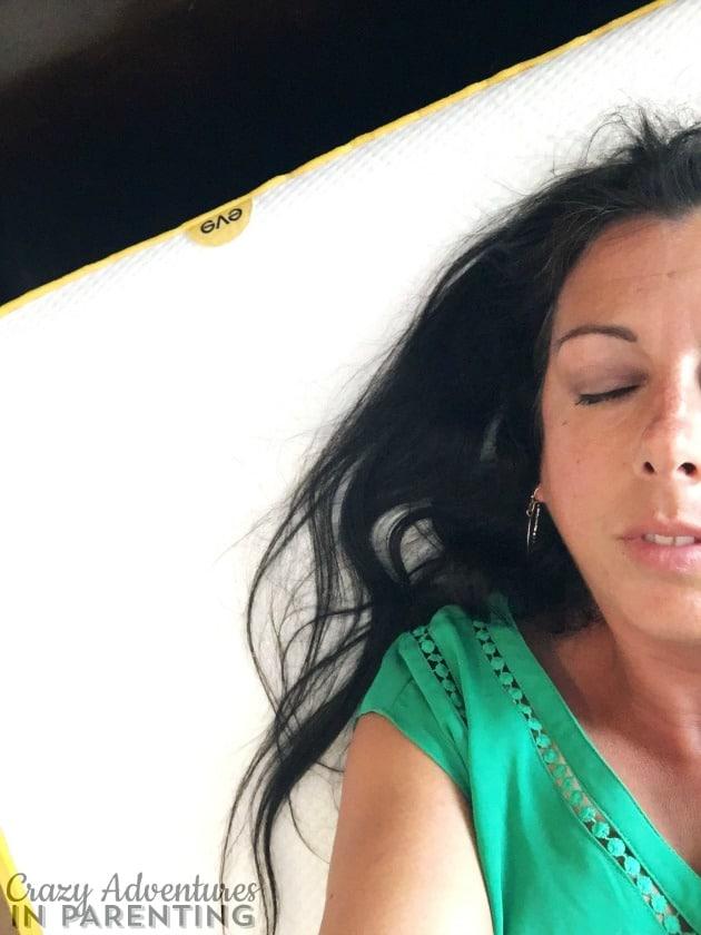 pillowy sweet softness with eve mattress