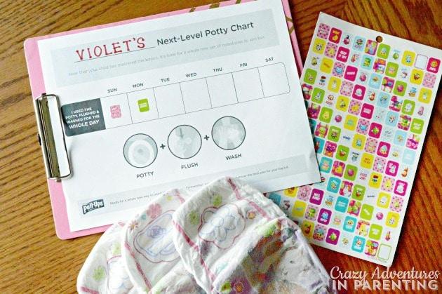 Printable potty chart