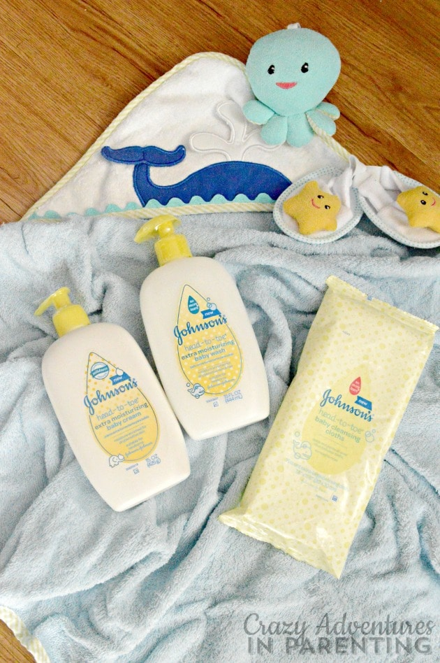 JOHNSON'S HEAD-TO-TOE baby care line