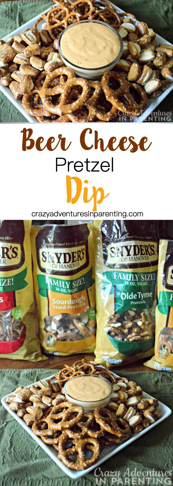 Beer Cheese Pretzel Dip